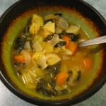 TUESDAYS ORGANIC VEGGIE DELIVERY AND A VERY VEGETABLE NOURISHING SOUP