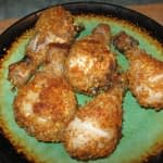 SPICY CRISPY OVEN BAKED CHICKEN