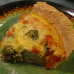BACON CHEESE VEGETABLE QUICHE